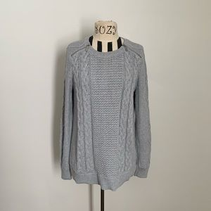 MICHAEL Michael Kors gray knit sweater